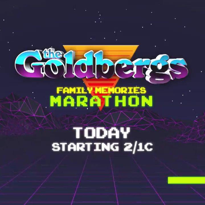 Get ready for the new season of #TheGoldbergs with a marathon of your favorite episodes today on @TVLand starting at 2PM EST!