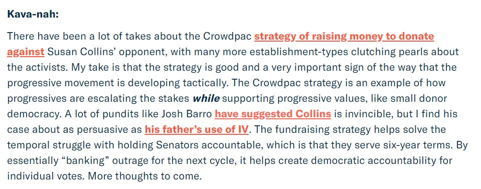 My take on critiques of the Crowdpac Kavanaugh strategy. patreon.com/posts/newslett…