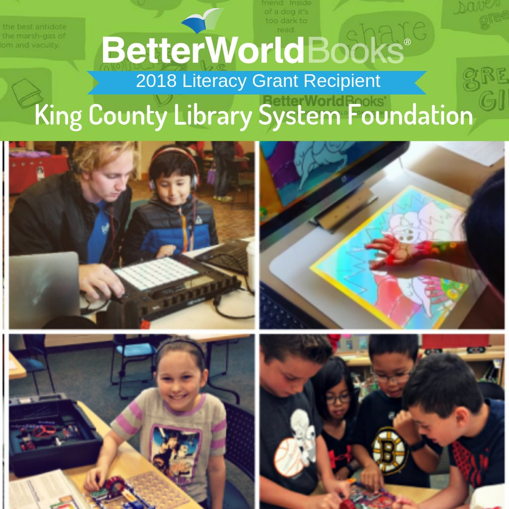 Cutting Edge Program For Children With >> Better World Books On Twitter Today S Spotlight Literacy Grant