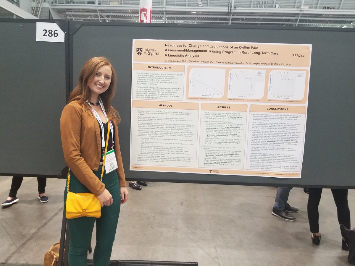 Lab doctoral students @natashaagallant and @m_erin_browne presenting their  work at #IASP2018 #IASPCongress in Bostonpic.twitter.com/TaYuTzqgRa