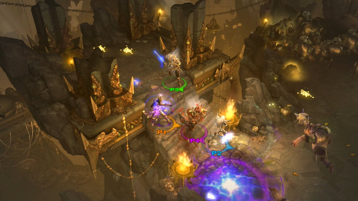 Nintendo Of America On Twitter Up To Four Players Can Play Together Via Local Or Online Multiplayer When Diablo Iii Eternal Collection Launches For Nintendoswitch On 11 2 Plus The Game Will Be