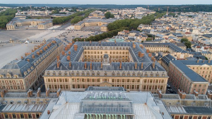🇬🇧 #JEP2018 This weekend, the palace of Versailles is opening its offices in the Grand Commun for the 35th edition of the European Heritage Days. Photo