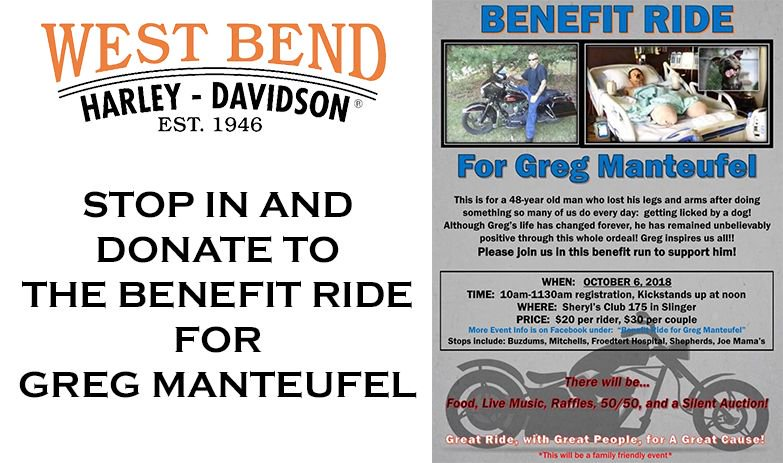West Bend Harley On Twitter Let S Make Greg Proud And Show Him The