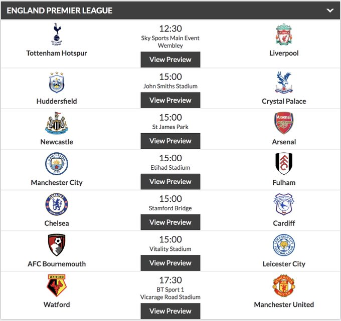 See any upsets on the cards today lads? 🤔 #PREMIERLEAGUE PREDICITONS ➡️ (18+) Photo