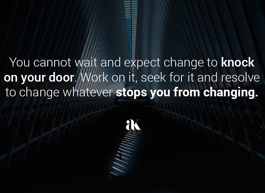 You are in charge. Resolve to change whatever you have been desiring to change. . . . . . #OmpongPH #Mangkhut #AFLHawksDees #StateOfTheNation #TheBoldPresident #Quote #success #motivationalquotes #change #successtips<br>http://pic.twitter.com/i8QoARdE0M