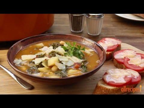 How to Make Kale Soup | Vegetarian Recipes | https://t.co/Kj4NvNLJ7M - Cooking View - https://t.co/b1jmElN9bj https://t.co/FiwY1m6F05