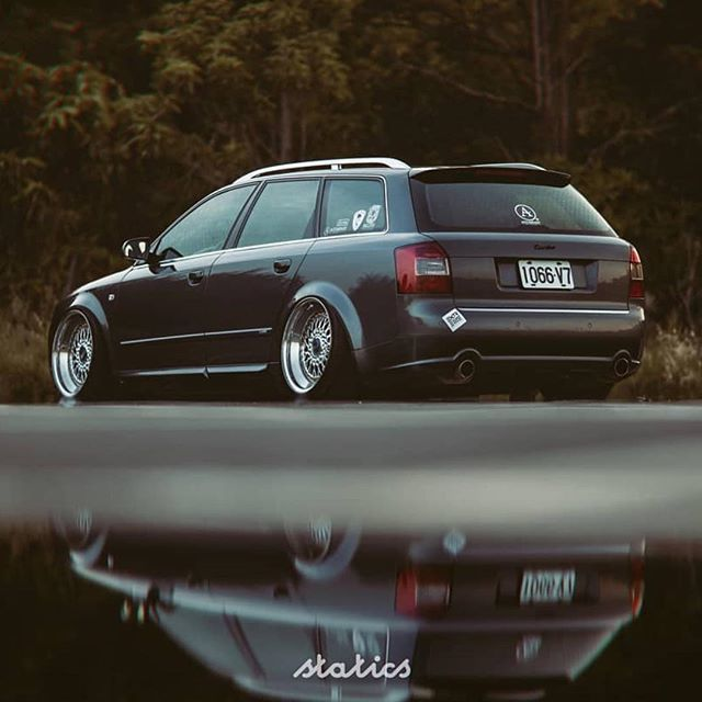 Wagonsdaily على تويتر Weekends Are For Reflection Audi B6 A4