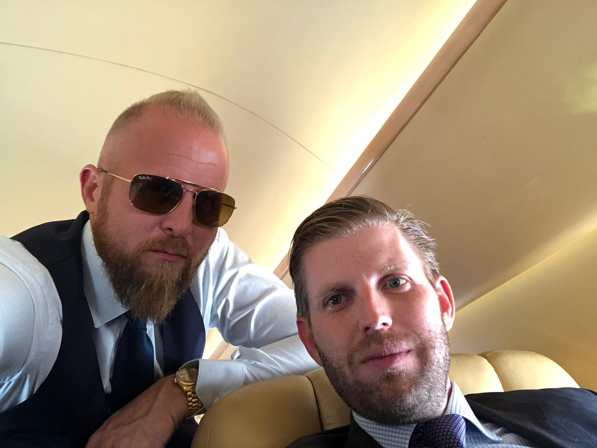 brad parscale on twitter raising money with erictrump in