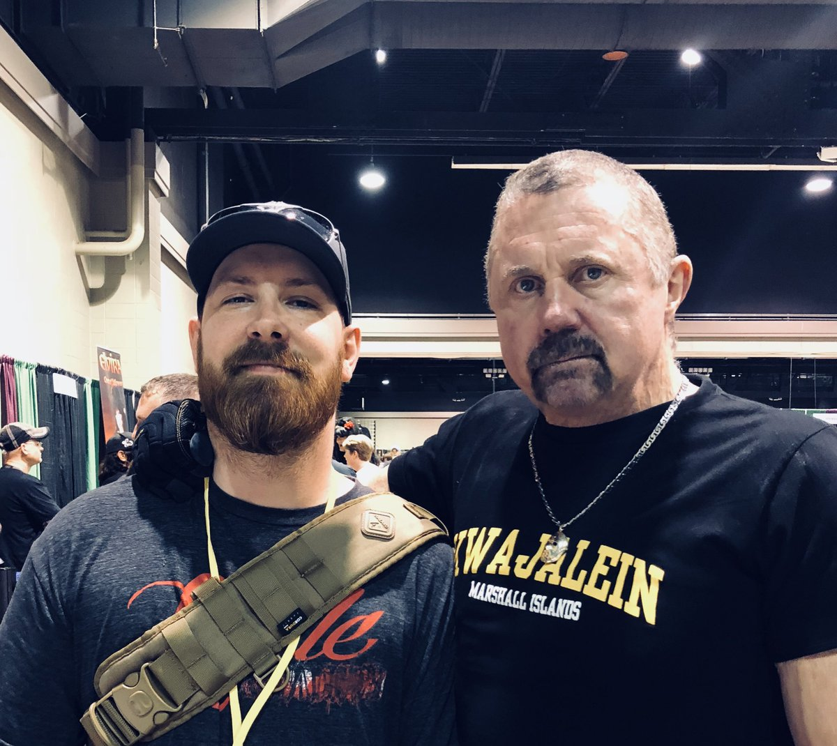 At @TheScarefest with @kanehodder1. If you're in Lexington, make sure to come by!