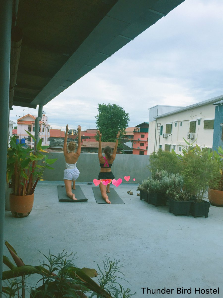 Quiet your mind. Free your body. #thunderbirdhostel #chiangmai #thailand #hostel #hostelinthailand #accommodation #happyplace #yoga #goodvibes #yogaeverywhere #reviewchiangmai <br>http://pic.twitter.com/ik4vSZwMBu