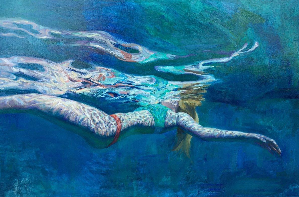 underwater painting easy - HD1200×791