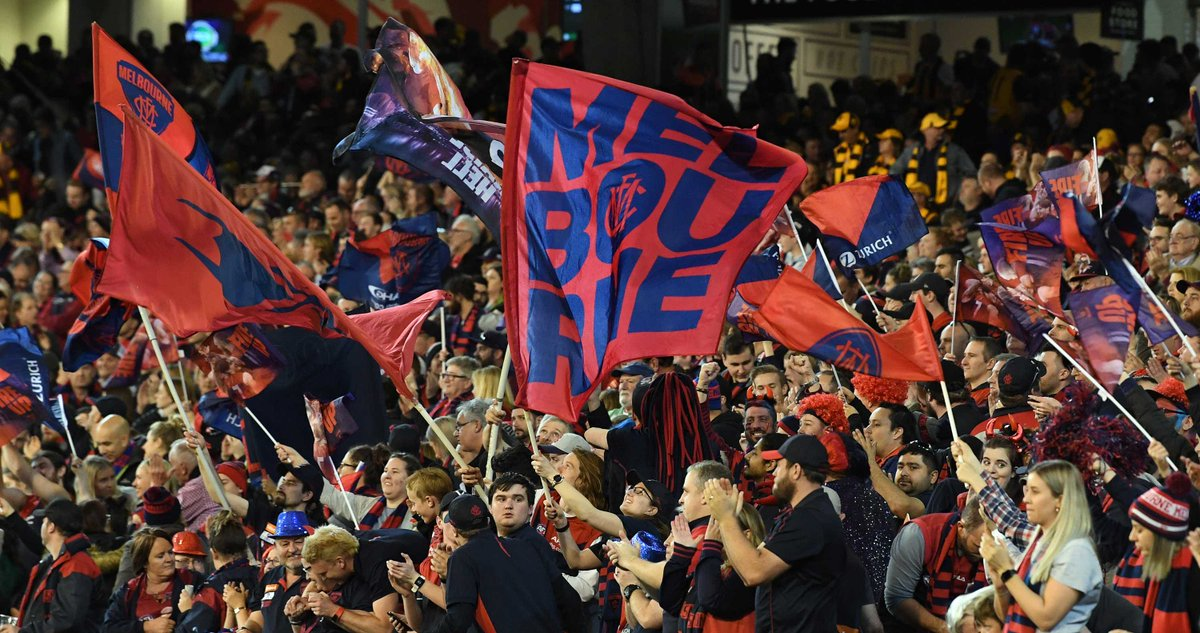 Melbourne&#39;s &#39;extra man&#39; have been instrumental in the Demons&#39; #AFLFinals  march, and Simon Goodwin wants extra flights to fly as many of them to Perth next weekend as possible. (Pic: AAP) #AFLHawksDees #AFL   http:// ab.co/2NaETfX  &nbsp;  <br>http://pic.twitter.com/kLuAegLNY8
