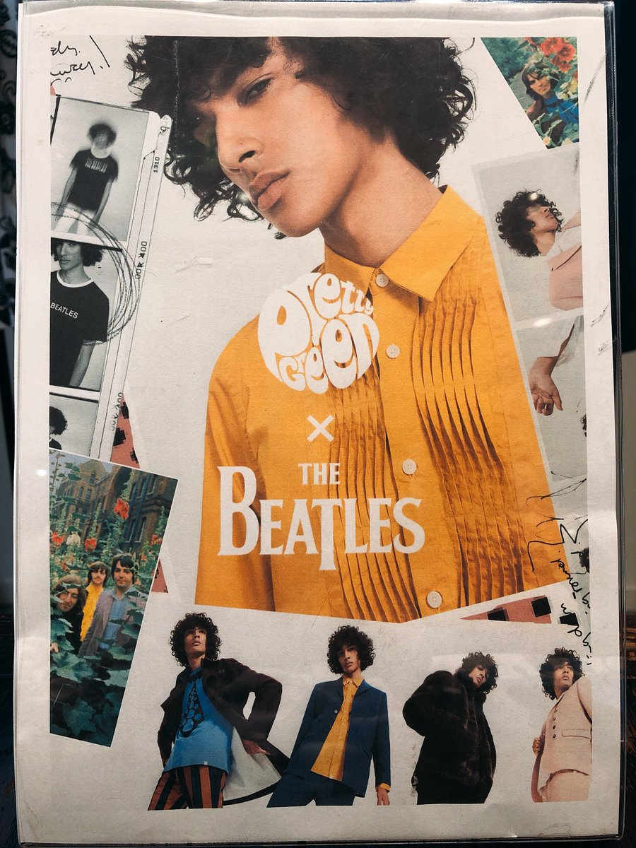【PRETTY GREEN × THE BEATLES WHITE ALBUM】PRETTY GREEN × THE B