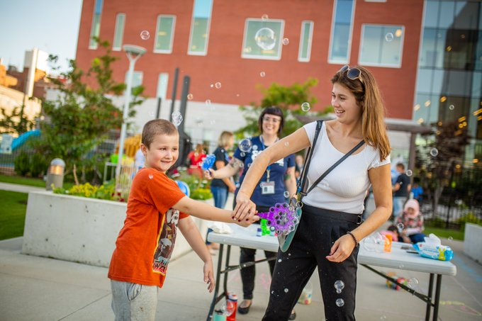 Our own mini #Supercrawl event was lots of fun today. Hope everyone enjoys the real thing this weekend! #HamOnt Photo