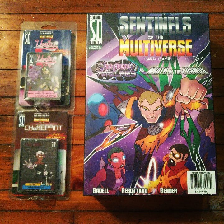 Yep, more #sentinelsofthemultiverse . We might have a teensy problem.... I MEAN WE'RE NOT ADDICTED TO THIS GAME! NONSENSE! I SAID GOOD DAY!  #cardgames #boardgames #tabletopgames #sotm #addictedtothegame #whengamesmurderwallets  https://www.instagram.com/p/BnusjnXne03/?utm_source=ig_share_sheet&igshid=1hemlnkumkph7…