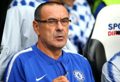 Maurizio Sarri could become the 4th manager in Premier League history to win his first five games in the competition after Carlo Ancelotti (6), Pep Guardiola (6) and Craig Shakespeare (5). #CFC Photo