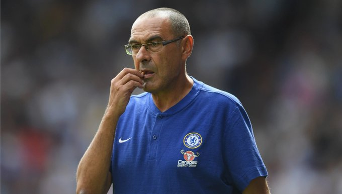 Maurizio Sarri could become the 4th manager in Premier League history to win his first five games in the competition after Carlo Ancelotti (6), Pep Guardiola (6) and Craig Shakespeare (5). #CFC {@TheBlues___} Photo