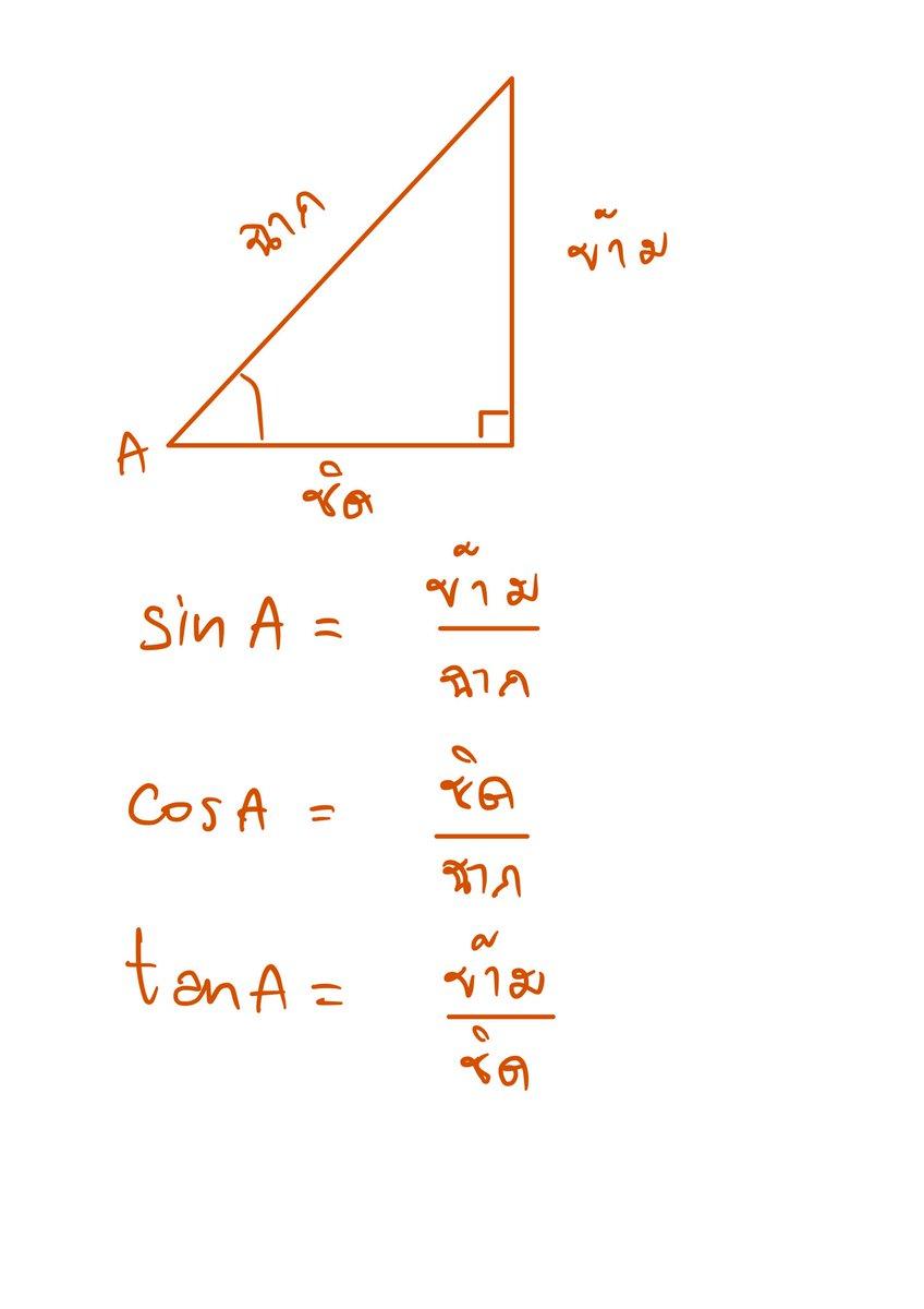 การหาค่า sin cos tan ข้าม/ฉาก ชิด/ฉาก ข้าม/ชิด  #ตรีโกณ #ตรีโกณมิติ #สรุปเลขมปลาย #สรุปคณิต #สรุปเลข #ติวเลข #ติวคณิต #สอนคณิต #สอนเลข #สอนโจทย์เลข #คณิตศาสตร์ #dektuhouse https://t.co/74T2D7cQxW