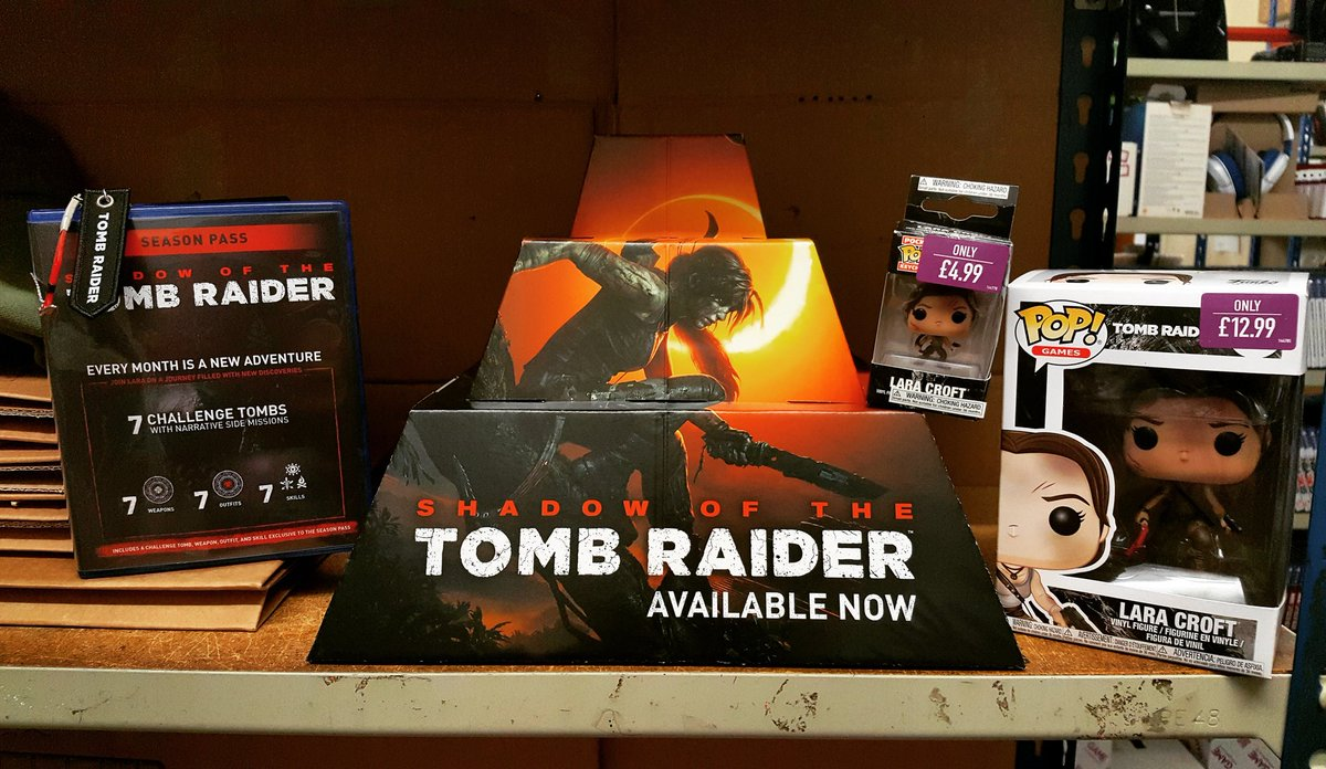 GAME Nottingham's photo on #ShadowOfTheTombRaider