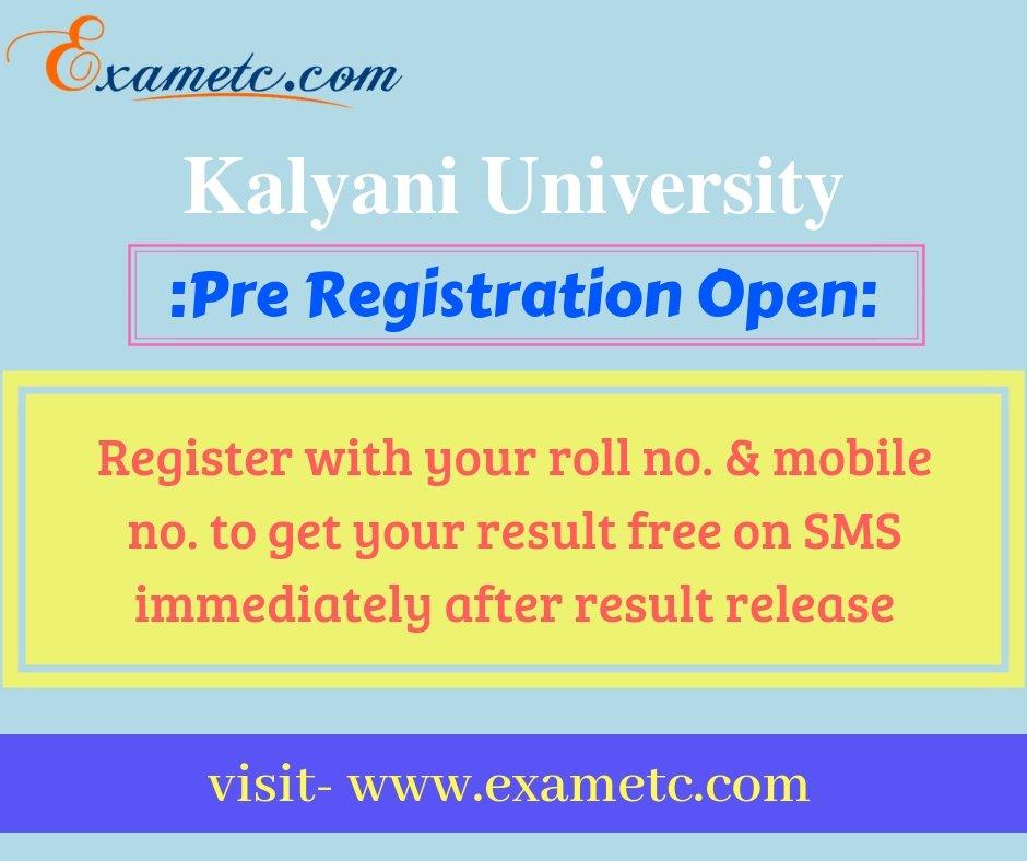 Kalyani University BA, B. Sc. &amp; B. Com. (Part 2) Hons. Major &amp; Gen. Exam 2018 Results will available soon. Click here-  https:// bit.ly/2Oo9LpM  &nbsp;    #kalyaniUniversity #UpcomingReleases #result2018 #resultsday2018 #part2 #examresults<br>http://pic.twitter.com/dlEdBfjgEz