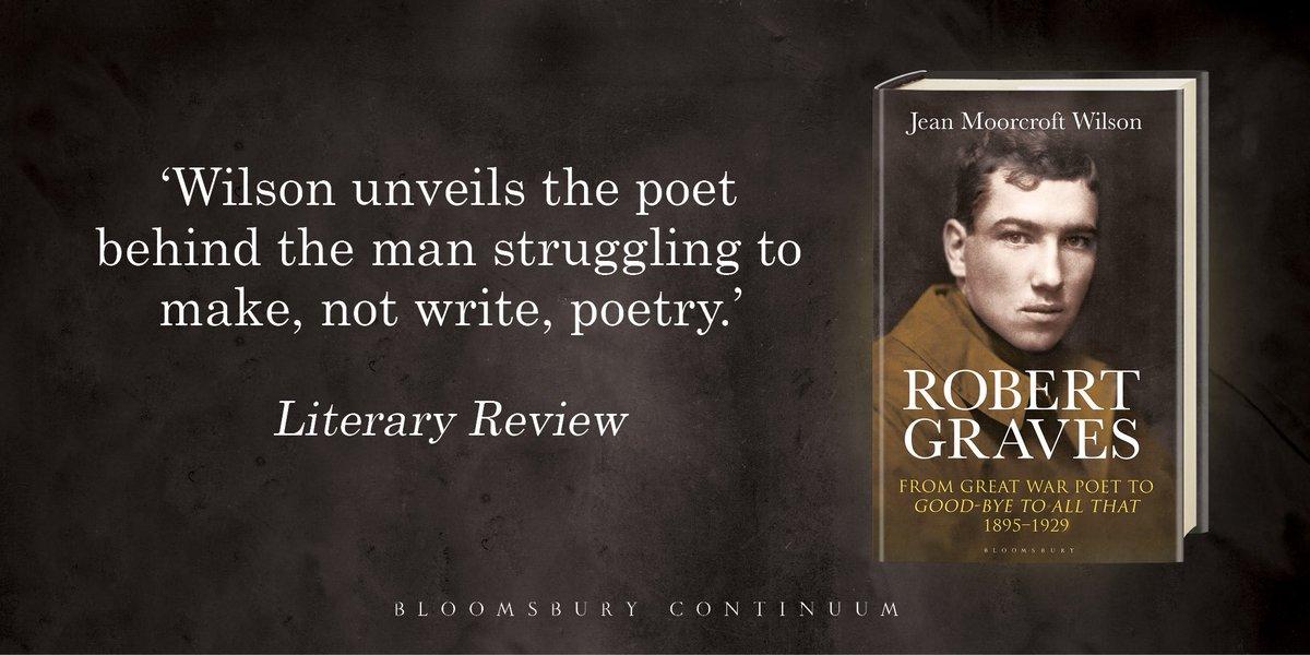 Bloomsbury Uk On Twitter Robert Graves The War Poet And