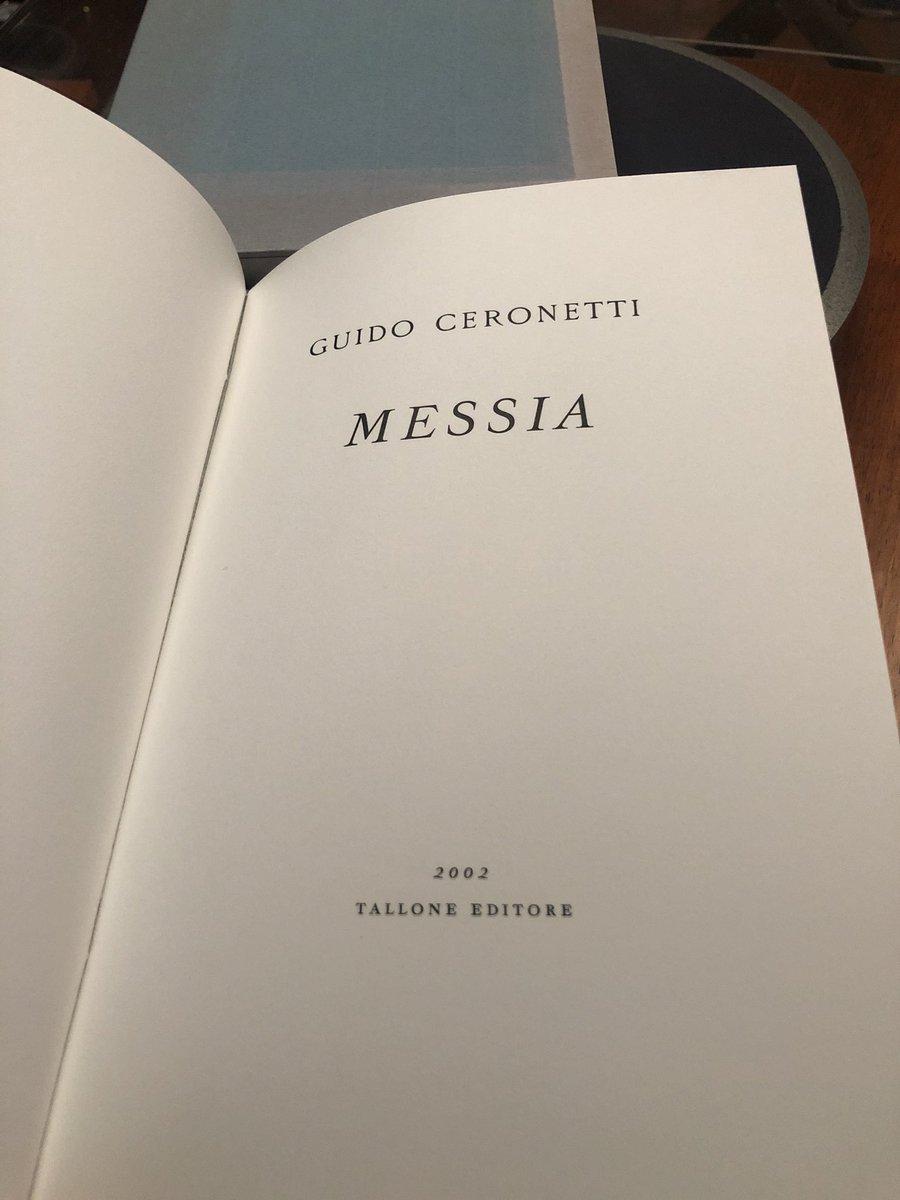 @a_armaroli sempre da Tallone editore, Il Messia, di #Ceronetti, le sue poesie sconcertanti  - Ukustom
