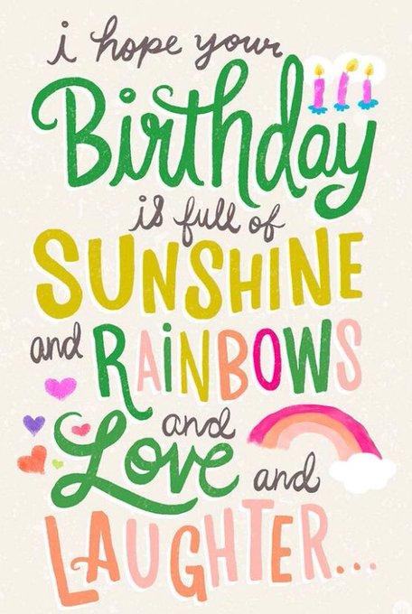 A VERY HAPPY BIRTHDAY . Lots of love xxxx