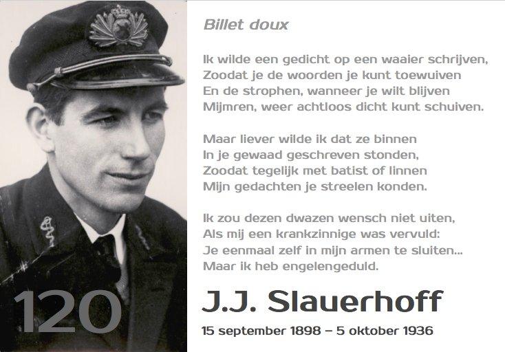 Paul Q Brussee On Twitter 120 Jaar Jj Slauerhoff 15