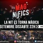 Esta nit arriba l'últim capítol de la primera temporada de #Magnífics! Ens veiem a les 22h @apunt_media