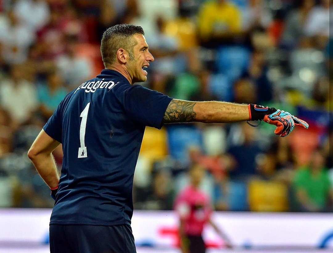 IL PORTIERE È UN RUOLO PER UOMINI FORTI..e @Puggio_1 lo é! Dopo un esordio negativo contro il #Lecce, fra turno di riposo e sosta, ha dovuto attendere un\