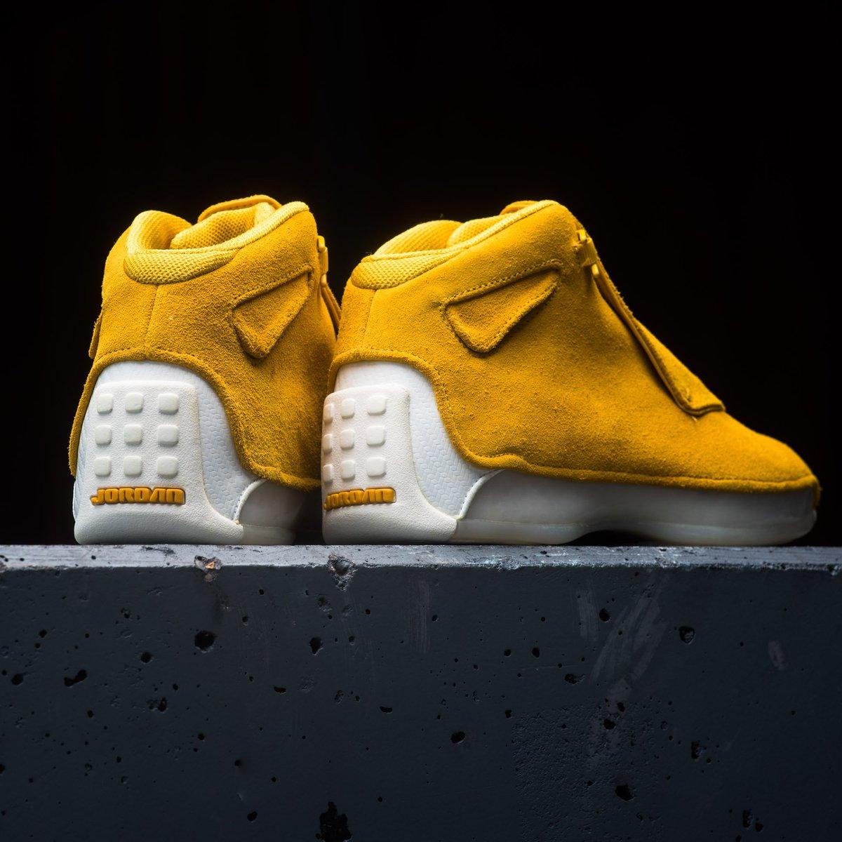029aae7cd38d Now Available    Air Jordan 18 Retro Premium Rich Suede Pack     https   sneakerpolitics.com collections air-jordan-18-retro-premium-rich-suede  … ...