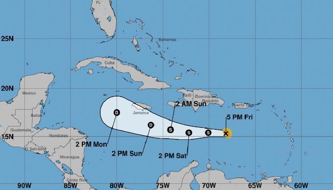Resultado de imagen para Isaac se degrada a depresión tropical, continúa alejándose de RD