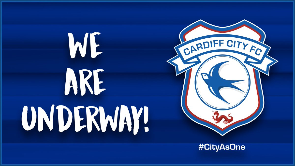 1 - Were underway against @BristolCity! (0-0) #CityAsOne 🔵⚽️🔵⚽️