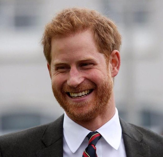 Happy birthday to HRH prince Harry