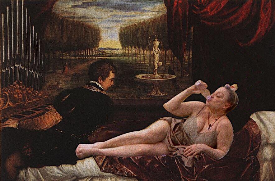 Opulantic Onion On Twitter La Aramis Vestida La Aramis Desnuda