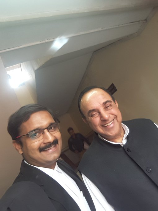 Happy Birthday, Sh. Subramanian Swamy!!!  May the Lord bless You with long & healthy life.
