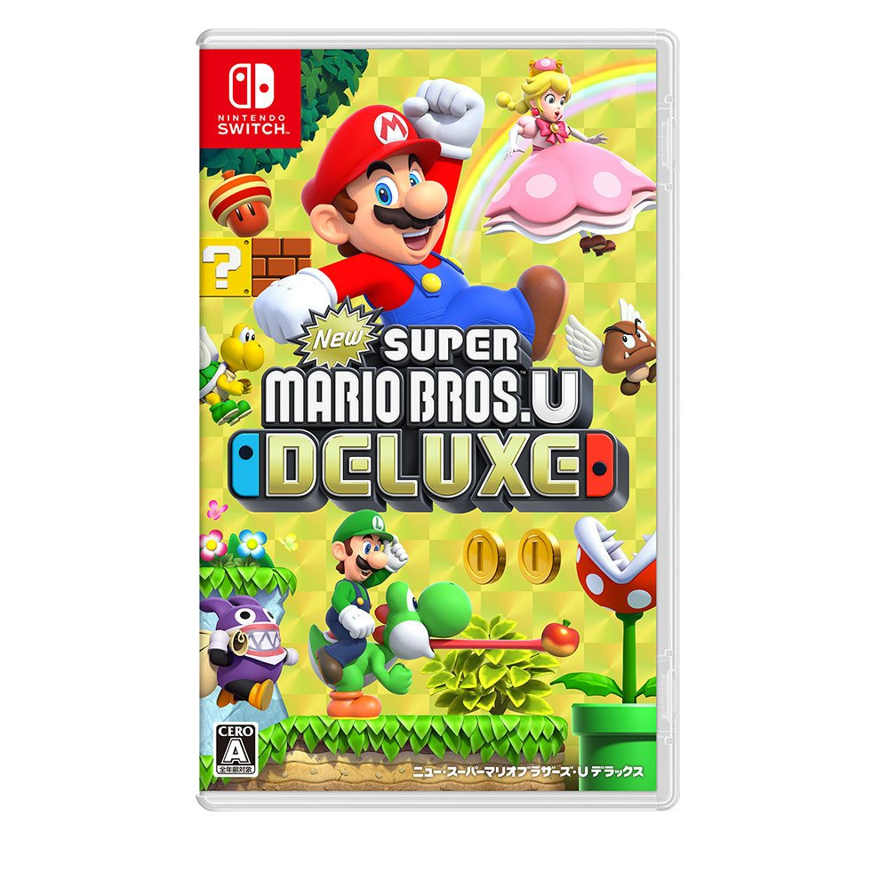 My Nintendo News Pa Twitter Here S The Japanese Box Art For The Upcoming Super Mario Bros U Deluxe For The Nintendo Switch
