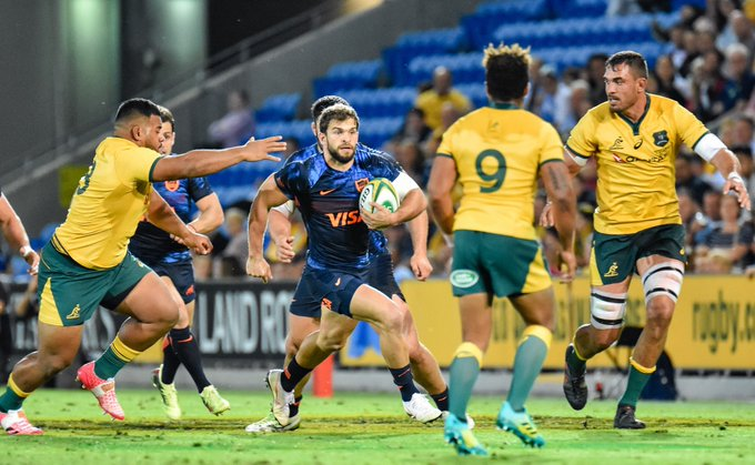 #RugbyChampionship #AUSvARG - Para disfrutar una y mil veces! @lospumas rugieron fuerte en Gold Coast y te invitamos a revivir el partido con las mejores imágenes que dejó la jornada. Photo