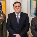 Image for the Tweet beginning: Le commandant de l'AFRICOM rencontre