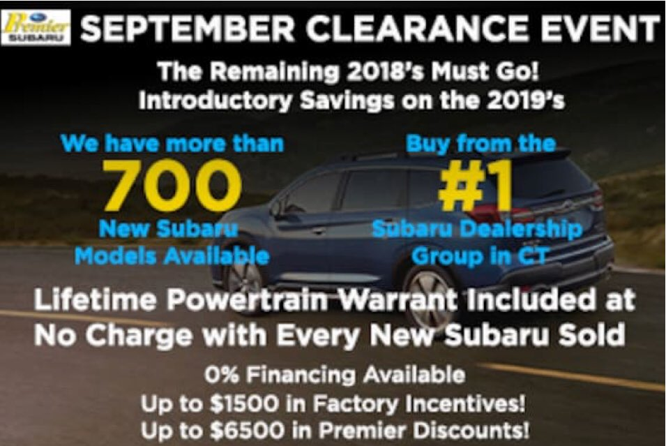 Subaru Dealers In Ct >> Premier Auto Group On Twitter Weather All Weather With An