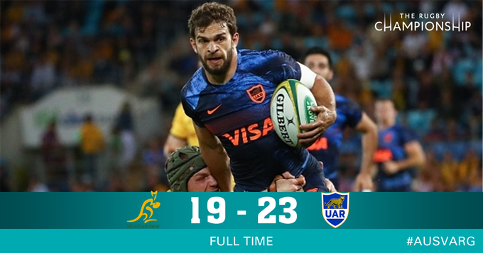 FULL TIME - Pumas have recorded their first win on Australian soil in 35 years!! #TRC #AUSvARG Photo