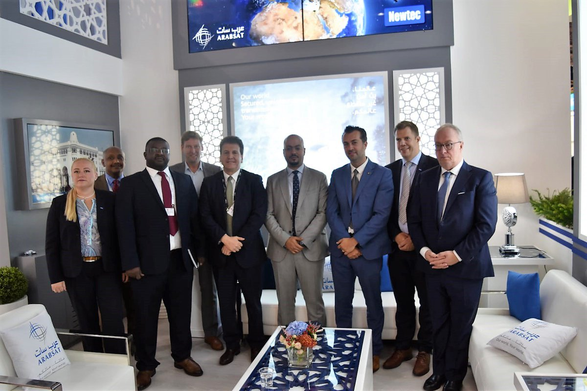 During #IBC2018 ARABSAT and NEWTEC sign new MULTI-MILLION Euro agreement. For more information click here:  http:// ow.ly/c8Uw30lPGM2  &nbsp;    @Newtec_Satcom<br>http://pic.twitter.com/pZTHD2e9UA