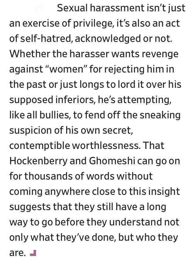 Soraya Roberts On Twitter Windy Exercise In Radioactive Selfpity   The Lack Of Self Awareness In The Jian Ghomeshi And John Hockenberry  Essays