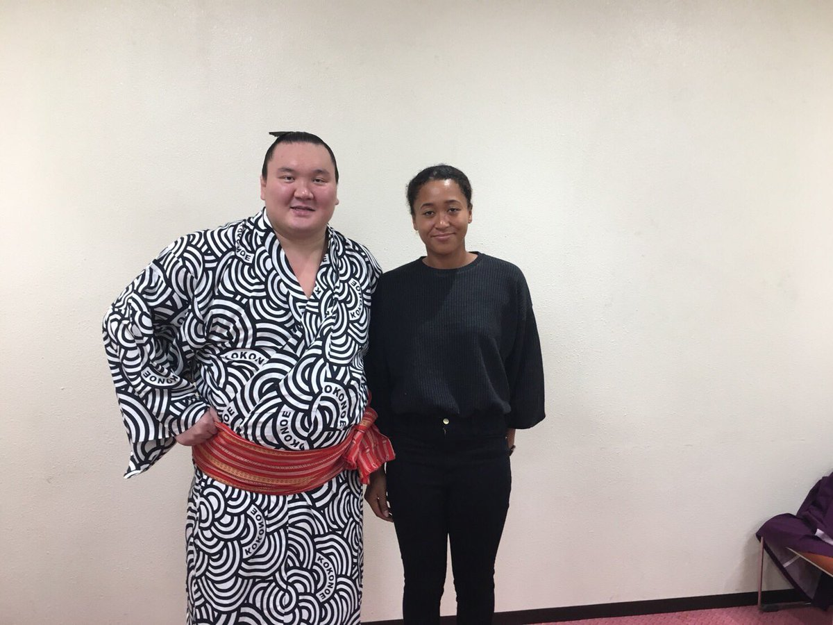 """Francois Illas New Tradition: NaomiOsaka大坂なおみ On Twitter: """"Went To Watch Sumo For The"""