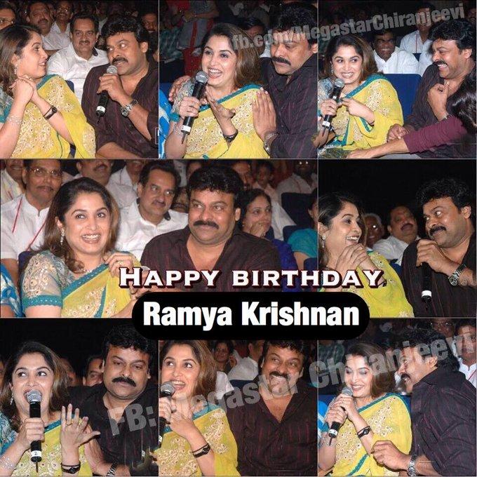 Happy Birthday Ramya Krishnan Garu.