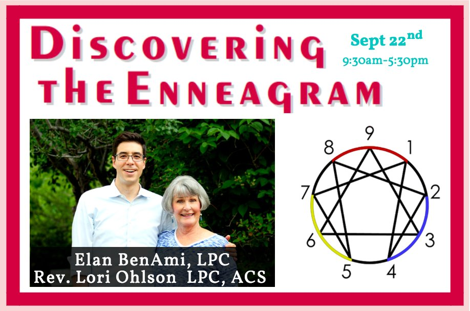 Discovering the Enneagram -by @EnneaApp- coming up in one week! Sat 9/22 @PeopleHouseCO https://t.co/RijQz60Eo2 Join Lori Ohlson and me + 9 awesome exemplars!  #Enneagram #Personality #Psychology #Spirituality #Denver https://t.co/nkmG1Hg5DA