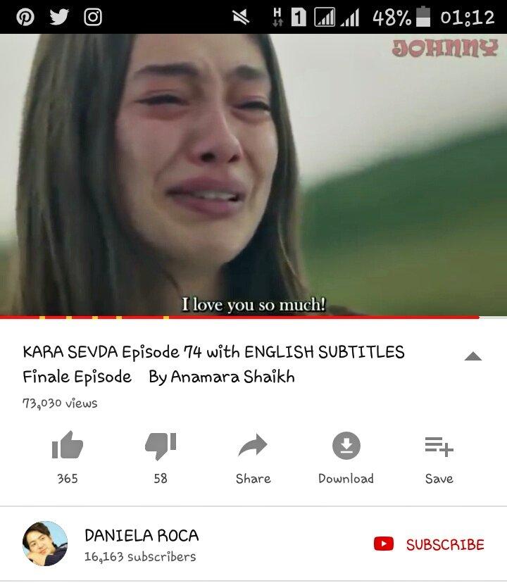 endless love english subtitles