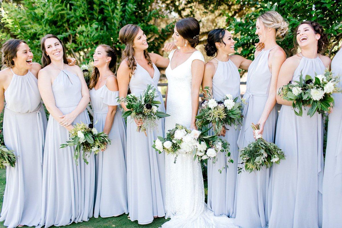 4a800434e Brooke-Borough, Amsale Bridesmaids and Bella Bridesmaids