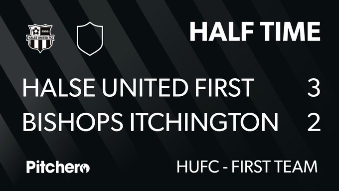HALF TIME: Halse United First Team 3 - 2 Bishops Itchington Reserves #HALBIS #Pitchero Photo