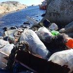 Ekstremt mye plastsøppel på Svenner fyr (Larvik) og ekstremt mye igjen... Takk for super innsats fra Naturvernforbundet, Kystlotteriet,  og Larvik kommune @Larvik og stødige Skjærgårdstjenesten (vi må tilbake.....)